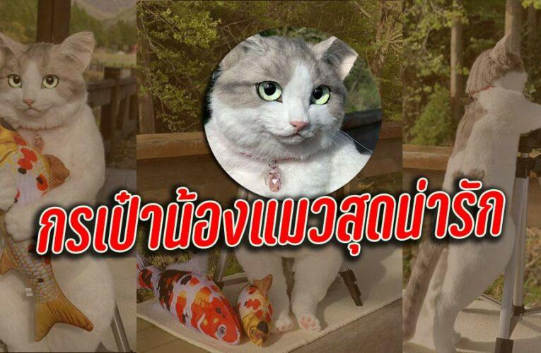 กระเป๋าแมวสุดน่ารัก จาก 猫制作pico เหมือนแมวจริงมากสุดยอดฝีมืองานแฮนเมค